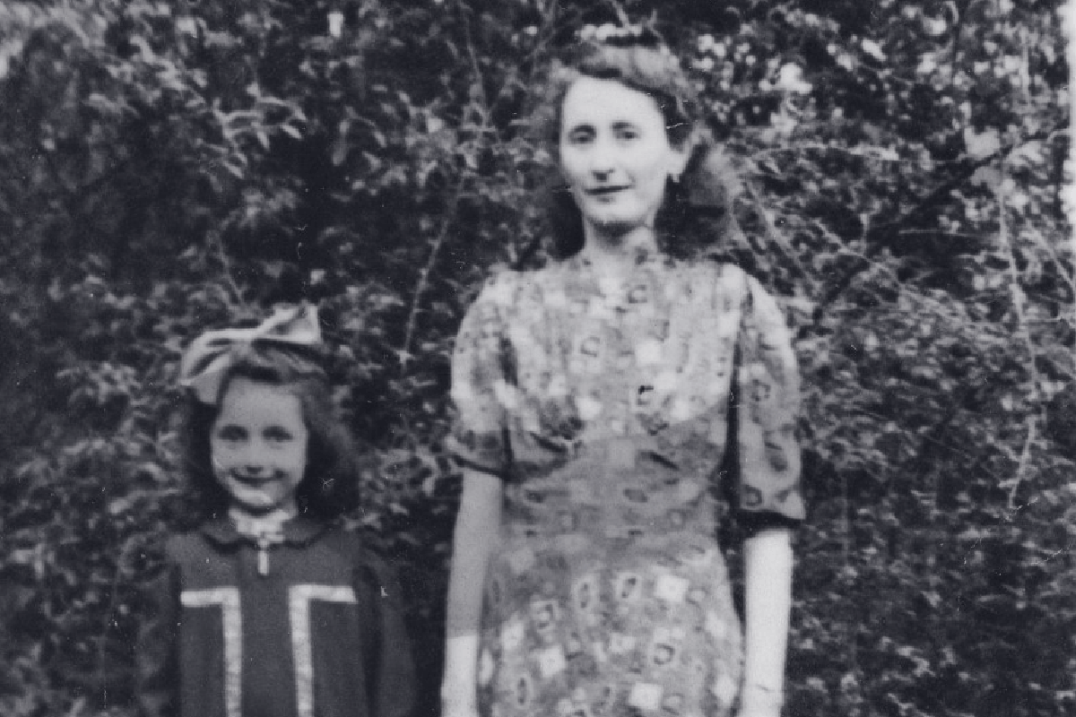 The Holocaust: Hear from Holocaust Survivor- Ann Dancyger